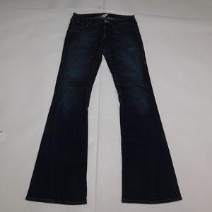 True Religion 29 Blue Denim Jeans Joey Cotton Blen